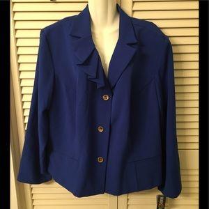 NWT plus size blazer